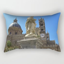 Cathedrale of PALERMO Rectangular Pillow
