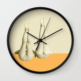 In Perfect Alignment Wall Clock