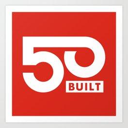 50 BUILT LLC Art Print