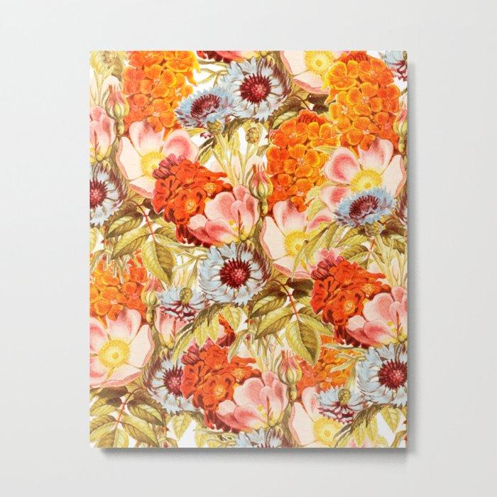 Coral Bloom #society6 #decor #buyart Metal Print