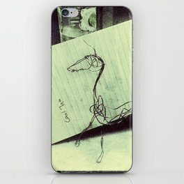 Abstract Wire Sculpture iPhone Skin