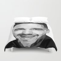liam payne Duvet Covers featuring Liam Payne - One Direction by jrrrdan