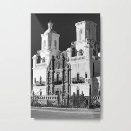 San Xavier del Bac Spanish Mission - Arizona Metal Print