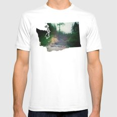 Act on Impulse Mens Fitted Tee SMALL White