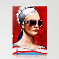 sunglasses Stationery Cards featuring Sunglasses by Ed Pires