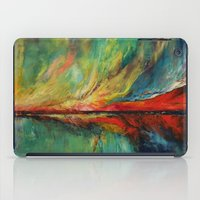aurora iPad Cases featuring Aurora by Michael Creese