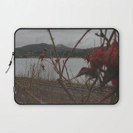 Overcast Fall Day - Crystal Lake, Barton VT Laptop Sleeve