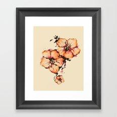 gumamela Framed Art Print