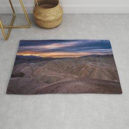 Death_Valley 5520 - Zabriskie_Point Sunrise Rug