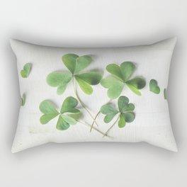 Shamrock Family Rectangular Pillow