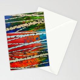 Birch Tree Stitch Stationery Cards