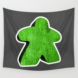 Giant Green Meeple Wall Tapestry