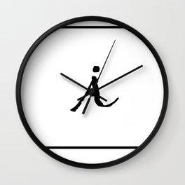 Monogram | i Wall Clock