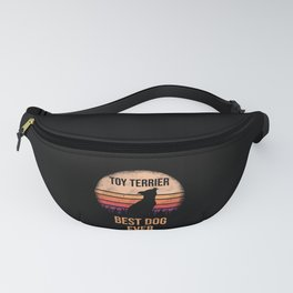 Toy Terrier print For Dog Lovers Cute Dog Fanny Pack