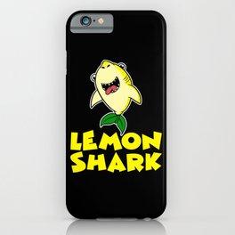 Lemon Shark Vitamin C Small Evergreen iPhone Case