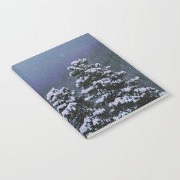 Falling Snow Notebook