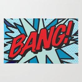 Comic Book BANG! Rug