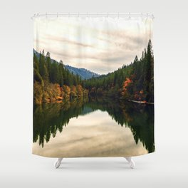 The Pit River in Northern California Shower Curtain