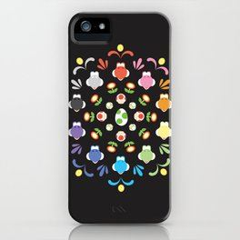 Yoshi Prism iPhone Case