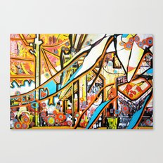 Ballard Bridge Canvas Print