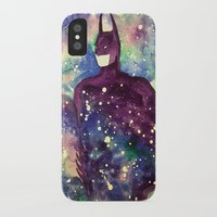 bat iPhone & iPod Cases featuring bat by Beth Jorgensen