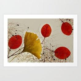 Autumnal colors Art Print