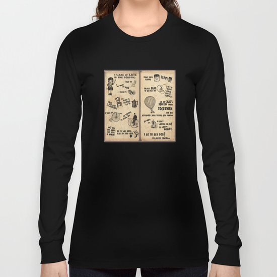 A Day of Lisa's Life Long Sleeve T-shirt