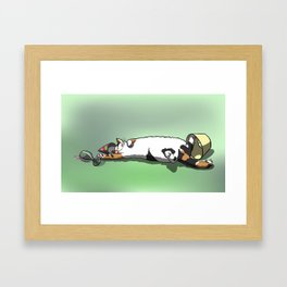 Party Hardy Cat Framed Art Print