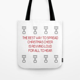 Spreading Xmas cheer Tote Bag