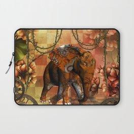 Steampunk, steampunk elephant Laptop Sleeve