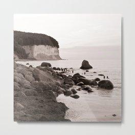 """Stone Island - Ruegen - """"VACANCY"""" zine Metal Print"""