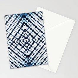 Diamonds Indigo Stationery Cards