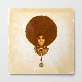 Afrofuturism fashion design- 1974 Metal Print
