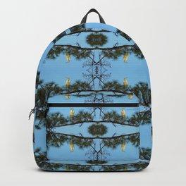 White Egret 2 Backpack