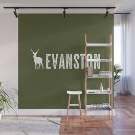 Deer: Evanston, Wyoming Wall Mural