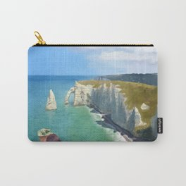 Love in Étretat Carry-All Pouch