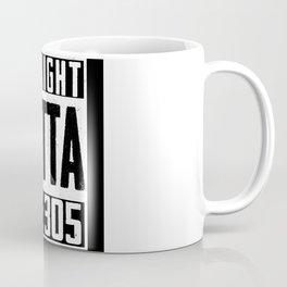 Straight Outta The 305 Miami Baseball Fan Coffee Mug