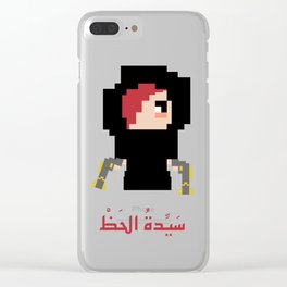 Arab Miss Fortune Clear iPhone Case