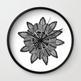 Cindy Mandala Wall Clock