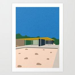 Ludwig Mies van der Rohe Barcelona-Pavillon Art Print