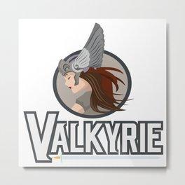 Valkyrie Viking Nordic Norse Myth Valhalla Gift Metal Print
