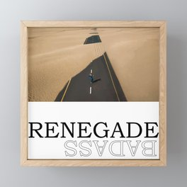 Renegade Framed Mini Art Print