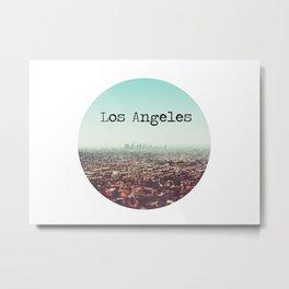 Los Angeles View Metal Print