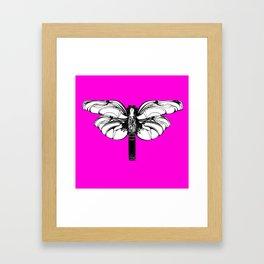 """Koloman (Kolo) Moser """"Butterfly design"""" (1) Framed Art Print"""