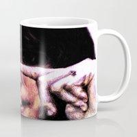 the breakfast club Mugs featuring Allison Reynolds from Breakfast Club by Aaron Bir