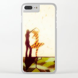 Dancing with Persephone Clear iPhone Case