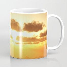 Ship Sunset Coffee Mug