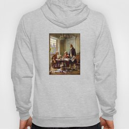 Writing The Declaration of Independence Hoody