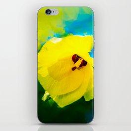 Sunny Hibiscus iPhone Skin