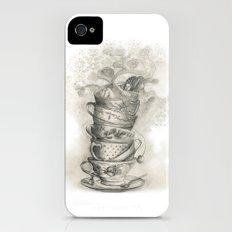 Tea bath iPhone (4, 4s) Slim Case